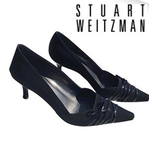 Stuart Weitzman Black Scorpion heal  Pump